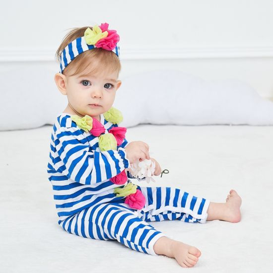 Spring Long Sleeve Clothing Baby Soft Jumpsuit Baby Clothes