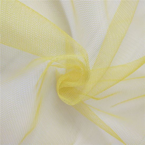 100% Polyester Soft Mesh Fabric Tulle for Dress and Skirts