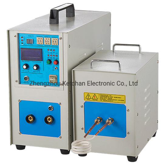 Small Electric Induction Heater for Precious Metal Melting