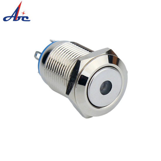 16mm Momentary DOT LED Lighted Push Button Electric Switch