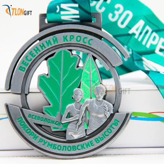 Fashion Design Hollow out Metal Medal of Sport