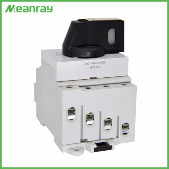 25A High Quality IP66 Mc4 Connector DC Isolator Main Switch Use for Combiner Box