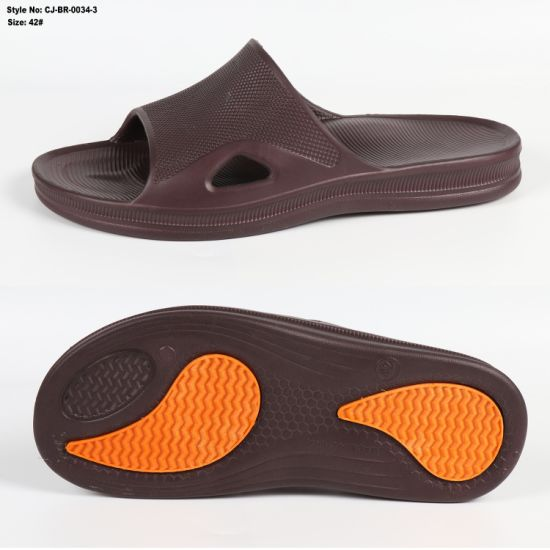 Custom Shower Sandal Bathroom Slipper Men Hotel Slippers