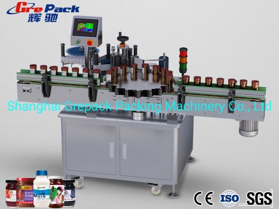 Fully Automatic Sticker Appicator for Glass Bottles