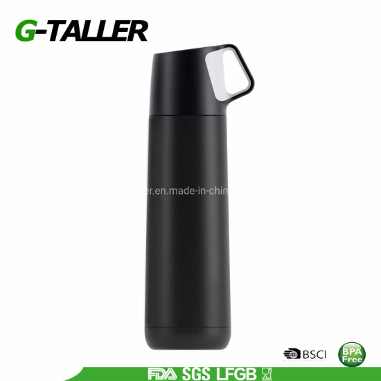 Portable Insulated Double Wall Stainless Steel Vacuum Flask & Thermos