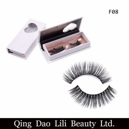 76d0ee53467 Wholesale 3D Mink Eyelashes Own Brand Eyelashes and Private Label 3D Silk  Eyelashes Faux Mink Lashes