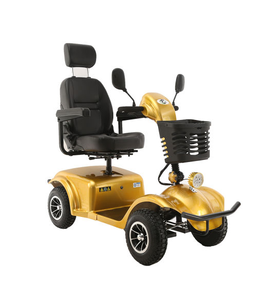2019 New 4 Wheel Electric Scooter for Old Disabled