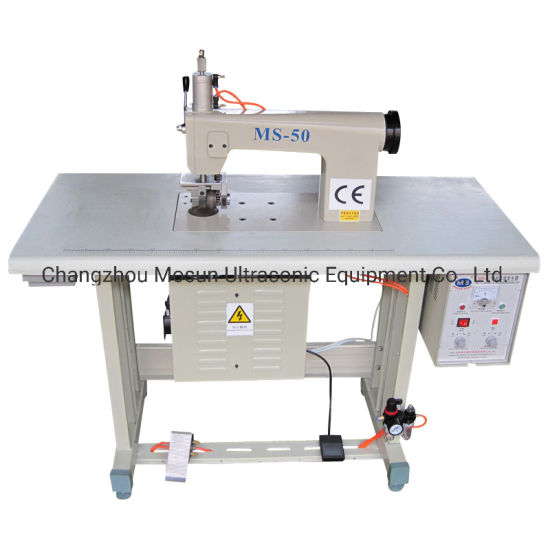 Ultrasonice Lace Sewing Machine for Garment Ribbon
