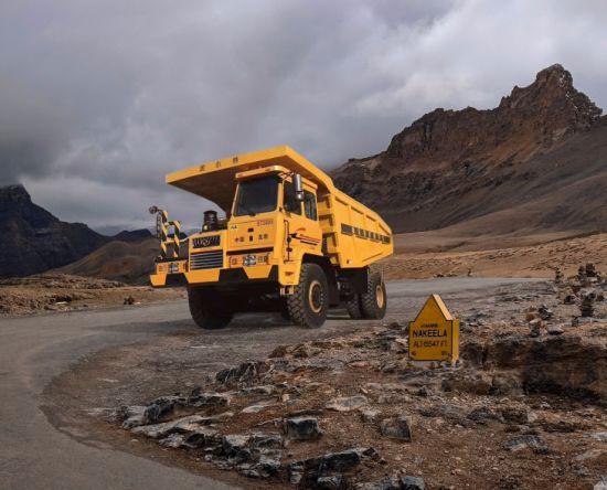 China off-Road 430HP 4X2 Dump Truck Gt3600 60 Ton