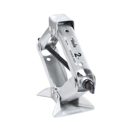 Portable Car Scissor Jack High Lift Heavy Duty Superior Steel Lightweight 2 Ton