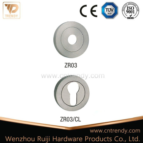 Round Rose/ Zinc Alloy Zamak Lock Cover Europe Profile Escutcheon (S02) pictures & photos