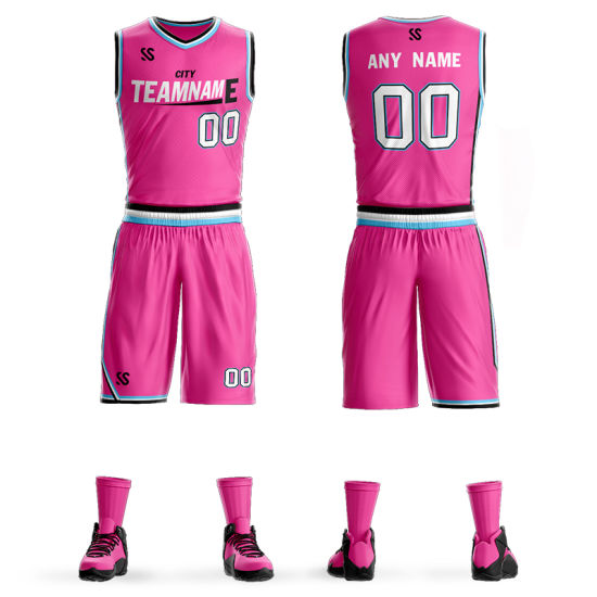 3108a2648 Wholesale Latest Design Custom Logo Sublimated Cheap Basketball Uniforms  Jersey