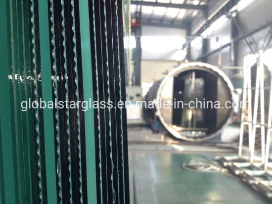 8.38mm to 10.38 mm PVB Clear Flat Toughened Tempered Laminated Glass