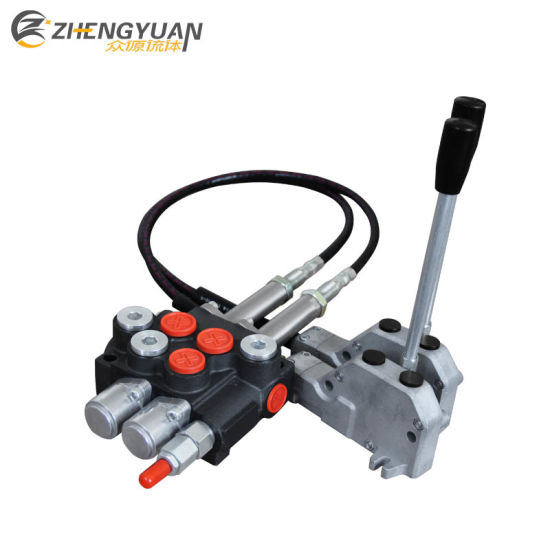 China Hydraulic Directional Control Valve with Cable Remote