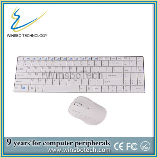High Quality 2.4G Delux Wireless Keyboard and Mouse Combo