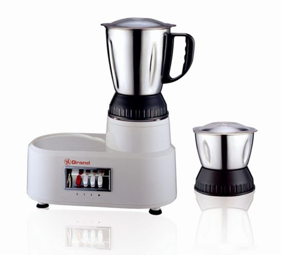 Geuwa 500W Stainless Steel Jar Dry & Wet Electric Power Blender KD-698