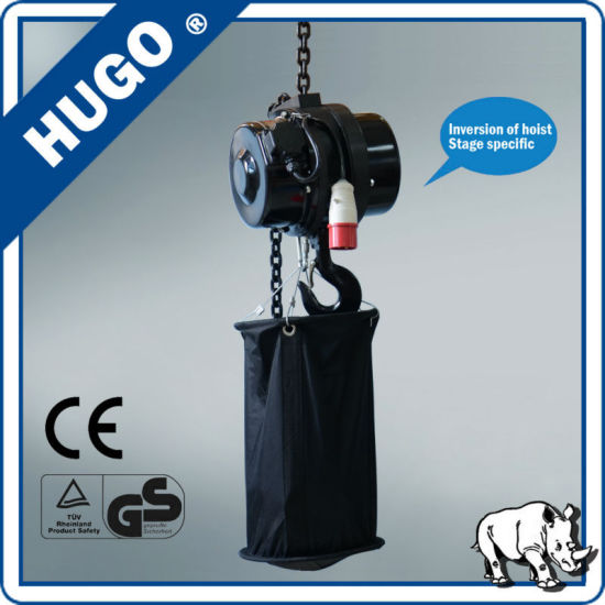 China Online Shopping 220V 380V 440V Electric Stage Chain Hoist