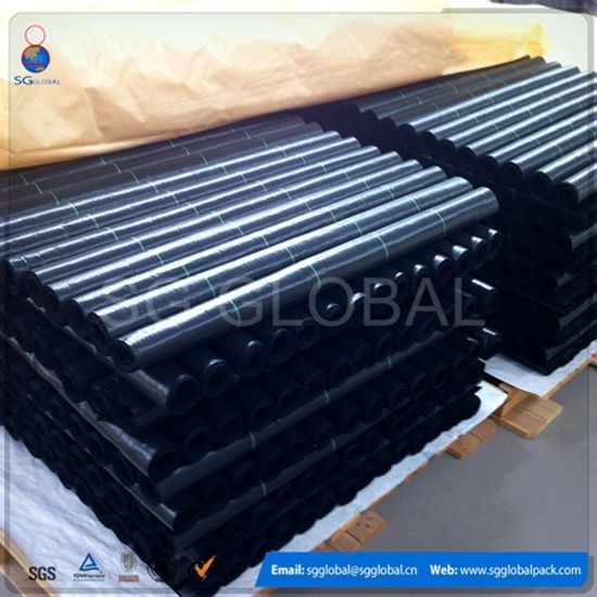 Agriculture Anti UV PP Woven Geotextile Weed Control Mat pictures & photos