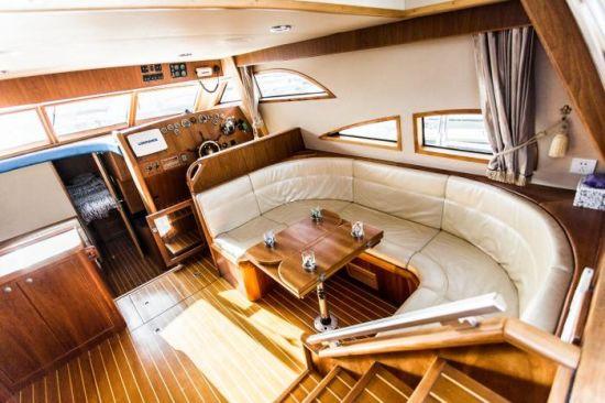 43FT Fiberglass Cabin Cruiser Boat and Yacht