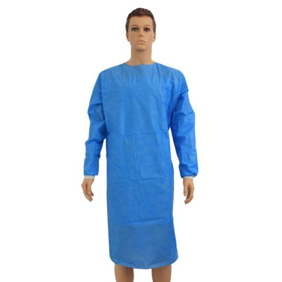 Hospital Use Quality Disposable Surgical Gown pictures & photos