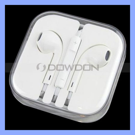 for Apple iPhone 6 5 5s Earpods Earphones with Remote and Mic (EAR-07)
