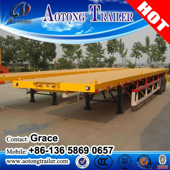 China Factory 20FT 40feet Container Chassis Trailer for Sale pictures & photos