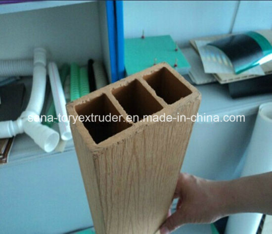 CE Certificate Wood Plastic WPC Profile Extrusion Machine Line/Extruder pictures & photos