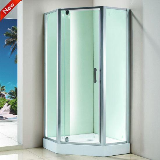 China Shower Enclosure Fiberglass, Fiberglass Shower Stall With Glass Door