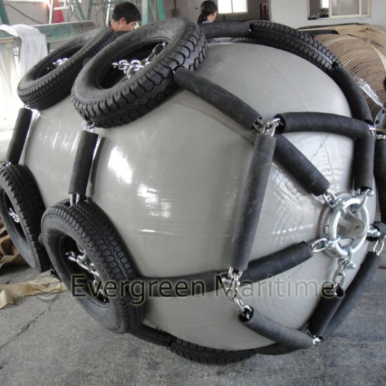 Ship Docking Pneumatic Rubber Fender Manufacturer From China pictures & photos