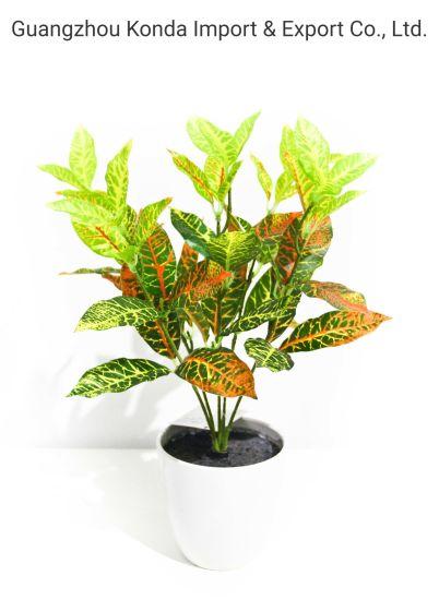 Factory Sale Mini Simulation Bonsai Artificial Flower Small Plant Indoor