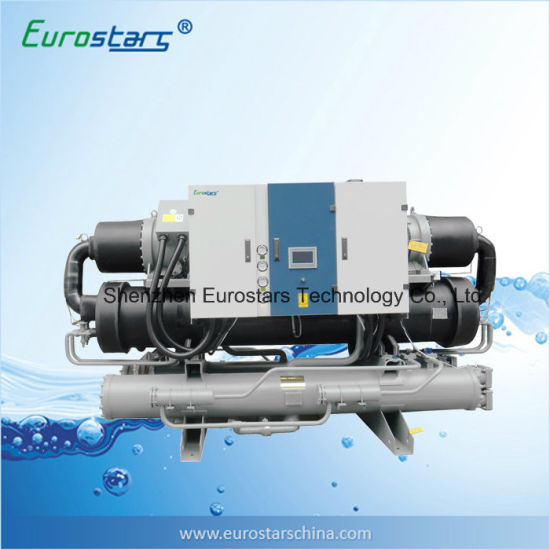 Ultra Low Temp. Glycol Water Cooled Industrial Water Chiller with Heat Recovery