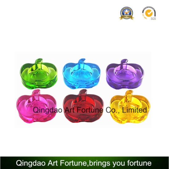 China Small Apple Tealight Candle Holder For Home Decor