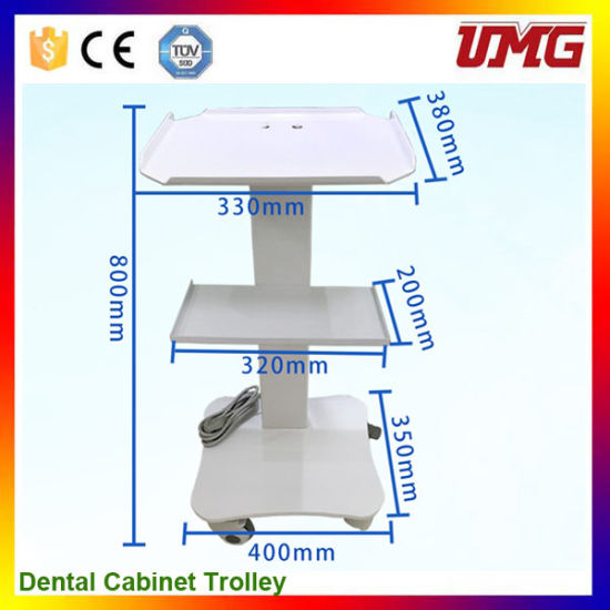 Hot Sale Dental Equipment Dental Cabinet Trolley pictures & photos