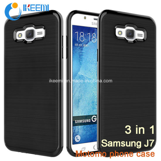 Motomo Shockproof Waterproof Amor Mobile Phone Case for Samsung J7 pictures & photos