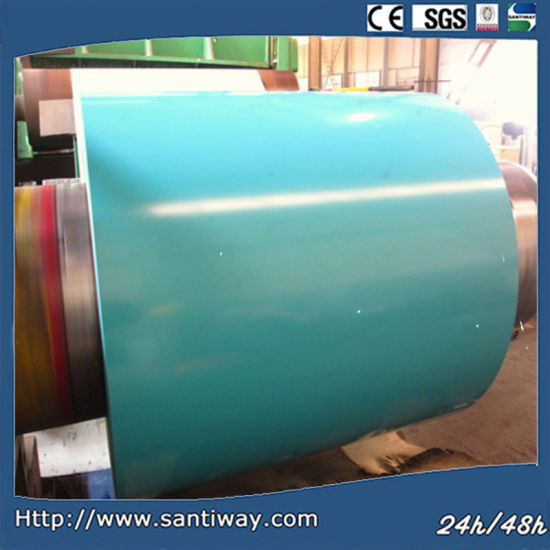 China Color Painted Galvalume Steel Coil - China Galvalume