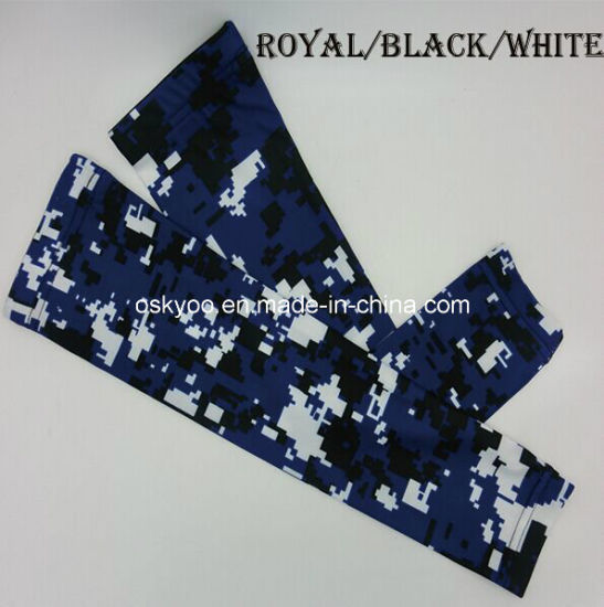 bd80ce4600187 China Customize Compression Arm Sleeve Digital Camo Sun Protection ...