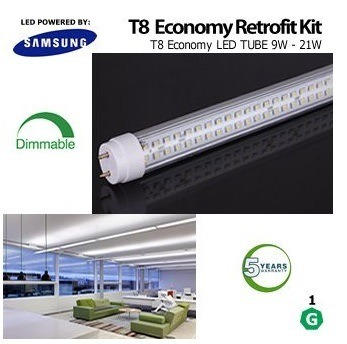 Dlc Dimmable T8 LED Tube Rotatable Ends Commercial Lighting pictures & photos