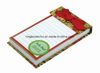 High Quality En71 Notepad with Ribbon pictures & photos