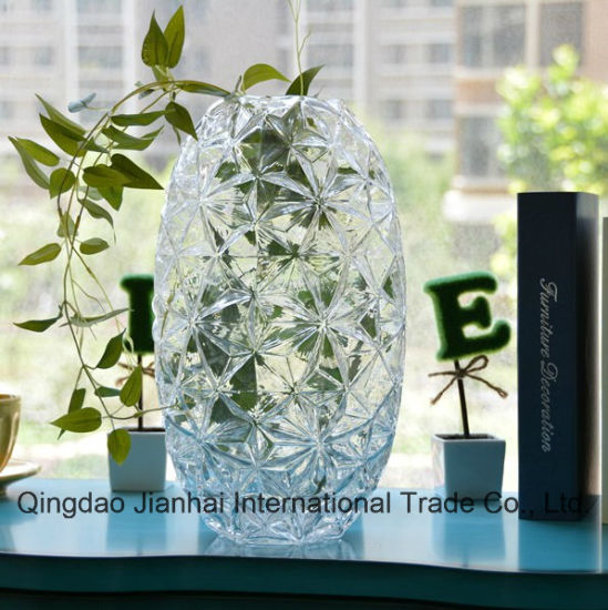High Quality Decorative Diamond Pattern Glassware pictures & photos