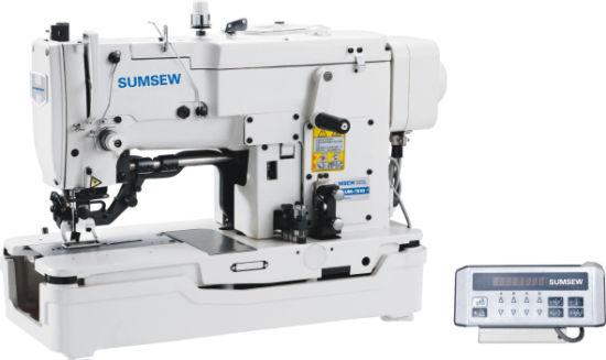Sum781ud High Speed Lockstitch Straight Button Hole Machine