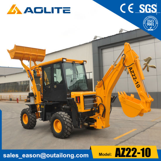 1.2t Wheel Pay Small Backhoe Loader for Sale pictures & photos