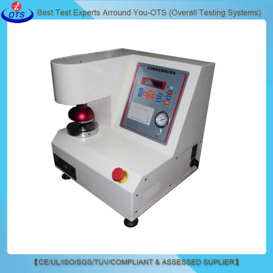 Automatic Cardboard Rupture Machine Bursting Strength Test Equipment