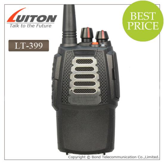 Walkie Talkies Chinese Lt-399 Sing Band Ham Radio