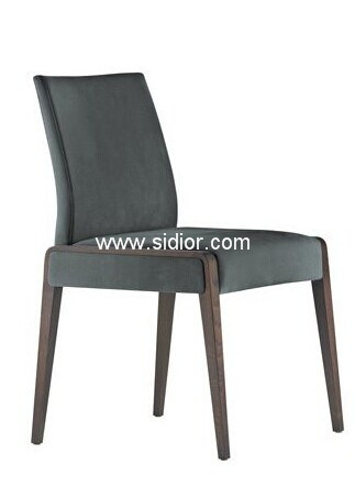 (SD-1008) Wholesale Modern Furniture Wooden Fabric Dining Chair for Restaurant