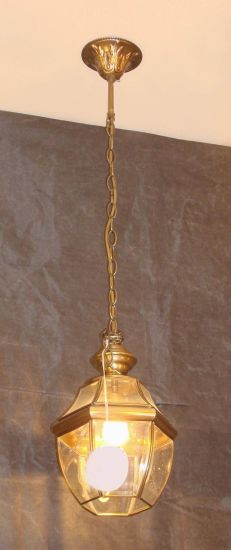 Brass Pendant Lamp with Glass Decorative 19013 Pendant Lighting pictures & photos
