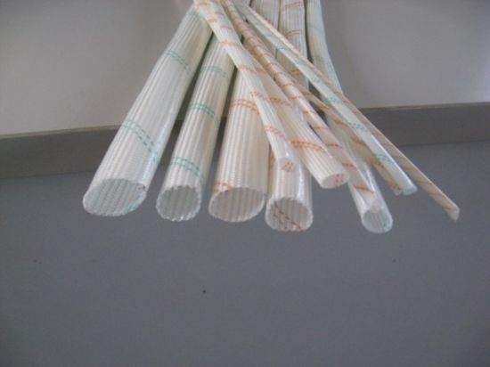 High Quanlity 2715 PVC Fiberglass Insulaton Sleeving pictures & photos