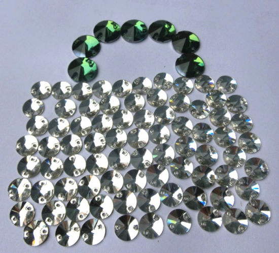 Flat Back Glass Sew on Stone Bead Rhinestone for Dress Garment Shoes pictures & photos