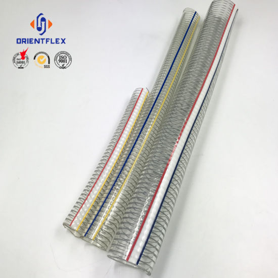 Anti-UV Anti-Chemical PVC Steel Wire Reinforced Hose pictures & photos