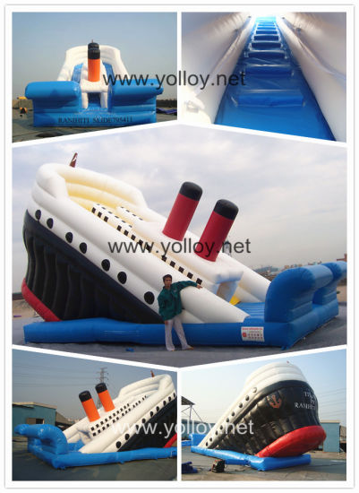 Inflatable Dry Slide Inflatable Bouncy Yacht pictures & photos
