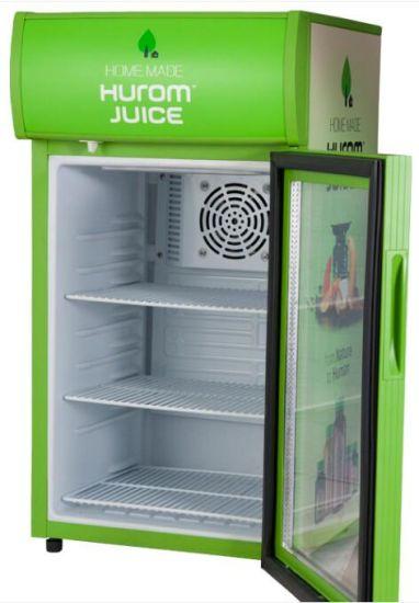 Mini Bar Fridge for Beverage Juice Beer Cooling Freezing (JGA-SC58)